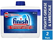 Finish Dishwasher Cleaner Dual Action Formula, Original, 2 Count