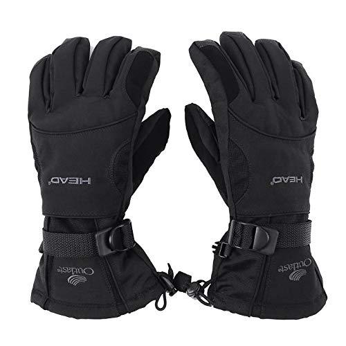 Sala-Sportswear - Men Ski Gloves Fleece Snowboard Gloves Snowmobile Motorcycle Riding Winter Gloves Windproof Waterproof Unisex Snow Gloves