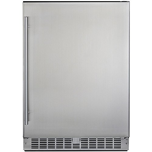 Silhouette Professional Energy Star All Refrigerator, Stainless Steel - Danby Silhouette Compact Refrigerator