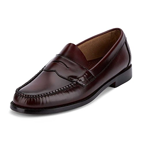 Bass Men's Logan Burgundy Leather Loafer 13 B - Logan Leather Shoes