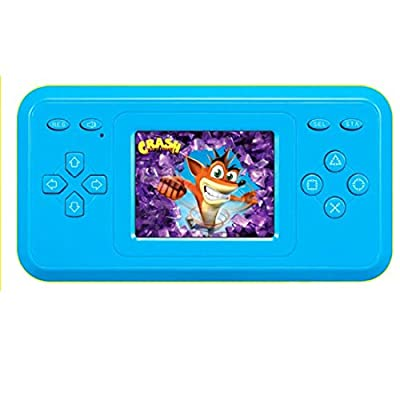"2.4"" LCD Handheld Game Console With Speaker (Blue) (3 X AAA) 298 in 1 Games"