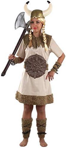 DISBACANAL Disfraz de vikinga Bruta para Mujer - -, M: Amazon.es ...