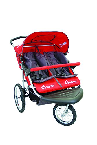 Instep 01183CRED Safari TT Double Jogger - Red Dorel Juvenile