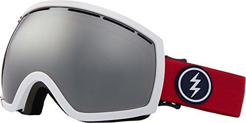 Electric Eyewear Unisex EG2 U.S.A./Brose Silver Chrome Lens One - 5 Lens Eg2