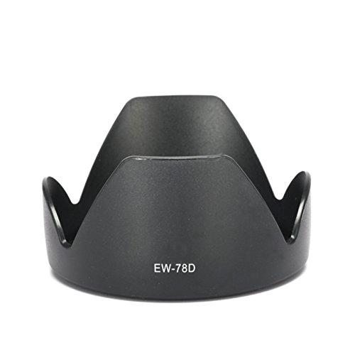 - Selens 72mm EW-78D Lens Hood for Canon EF-S 18-200mm f/3.4-5.6 is, 28-200mm f/3.4-5.6 USM, 28-200mm f/3.4-5.6