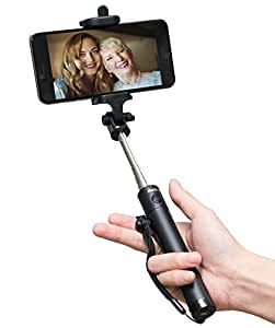 selfie stick baslo compact selfie stick extendable bluetooth sel. Black Bedroom Furniture Sets. Home Design Ideas