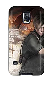 5046351K93771005 Case Cover, Fashionable Galaxy S5 Case - Resident Evil