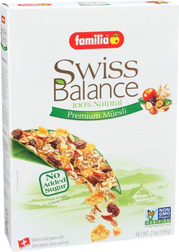 Familia Swiss Balance Muesli Cereal, No Added Sugar, 21-Ounce Box (Pack of 6) by Familia (Image #5)