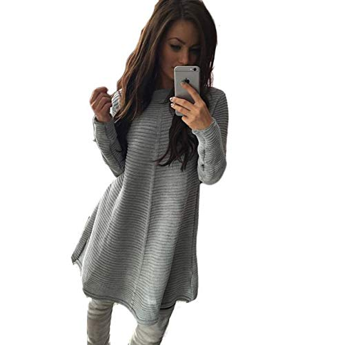 5bf6075a970 Taille Chandail Sweater Col La Sexy Pull Robe Loose Grande Mode Automne  Femme Épais Mme Hiver ...
