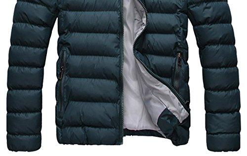 anorak R sudadera XXL abajo SODIAL chaqueta Verde capucha Hombres 2014 Caliente Abrigo invierno con abrigo z0w0qdg