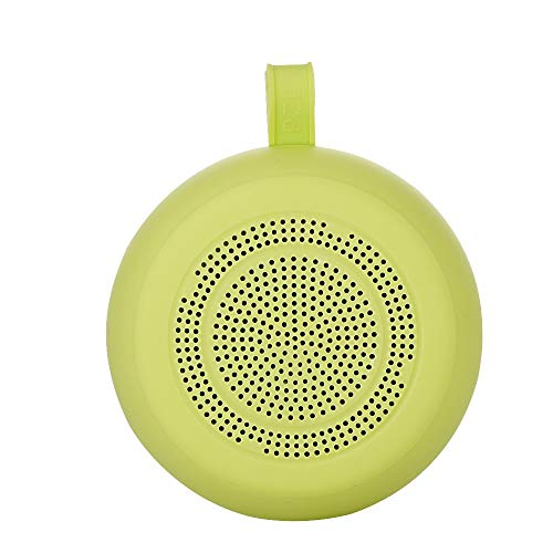 LBYMYB Wireless Bluetooth Speaker FM Radio Hands-Free Call AUX Mode TF Card Play Outdoor Waterproof Sports Pendant Mini Speaker Sound (Color : Green)