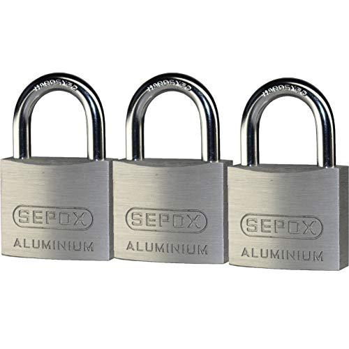 (SEPOX Aluminum Alloy Padlock Keyed Alike with 1-1/5