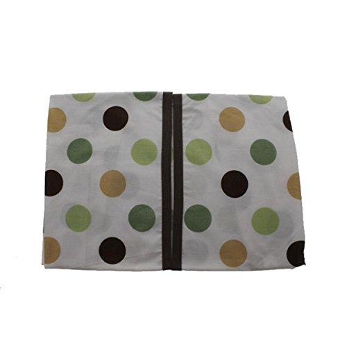 - Kids Line Pop Monkey Embroidered Baby Boy Diaper Stacker Green