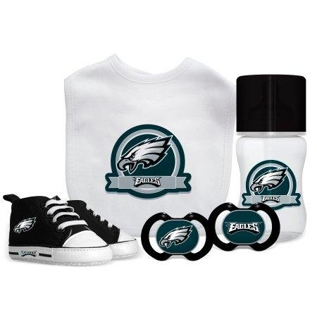 Baby Fanatic NFL Philadelphia Eagles Infant and Toddler Sports Fan Apparel, Multicolor