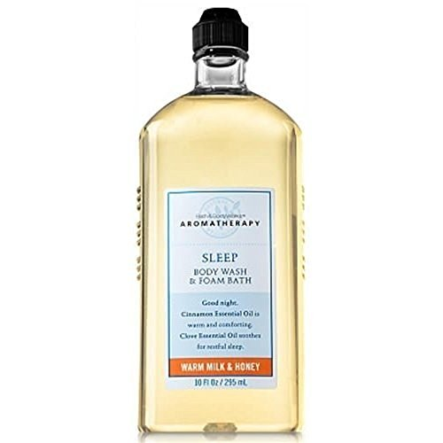 Aromatherapy Sleep Warm Milk & Honey Body Wash and Foam