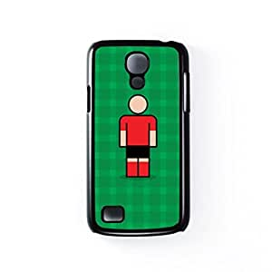 Leverkusen Black Hard Plastic Case for Samsung? Galaxy S4 Mini by Blunt Football European + FREE Crystal Clear Screen Protector