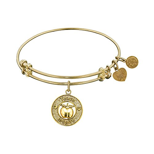 JewelryWeb Angelica Teacher Bangle Bracelet -  RCB316296