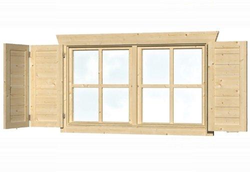 skan holz fensterl den doppelfenster beidseitig kaufen. Black Bedroom Furniture Sets. Home Design Ideas