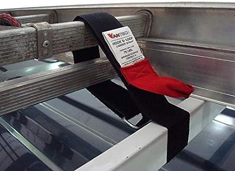 H1 2 bar escalera – Baca de acero para Nissan NV200 2013-on, Negro: Amazon.es: Coche y moto
