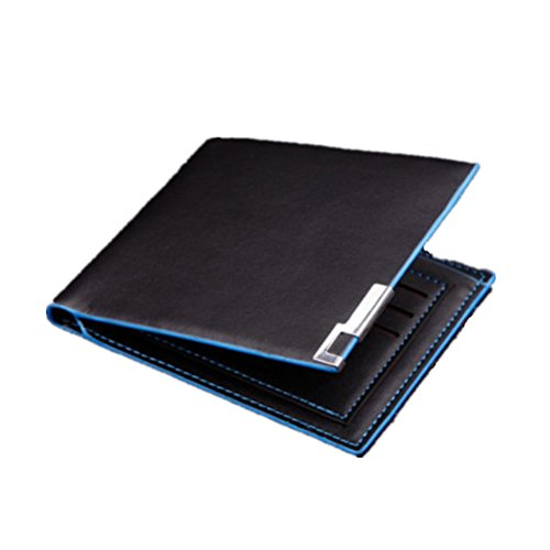 Wallet, AfterSo Men Slim Thin Minimalist Bifold ID Credit Card Holder Purse (12cm/4.72