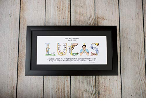 Personalized First Communion Gift for Boys and Girls