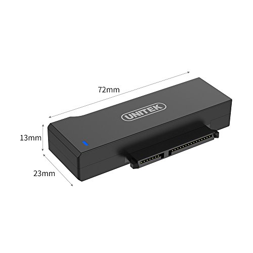 Unitek USB to SATA Adapter, USB 3.0 to SATA III Adapter Cable universal 2.5/3.5 HDD/SSD Hard Drive Disk SATA Optical Drive, Include 12V/2A Power Adapter - [Upgraded Version] by Unitek (Image #6)'