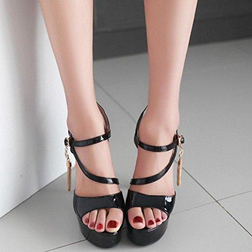 black Moda 13CM Donna Sandali Melady 2 Heels 8xBY8qF