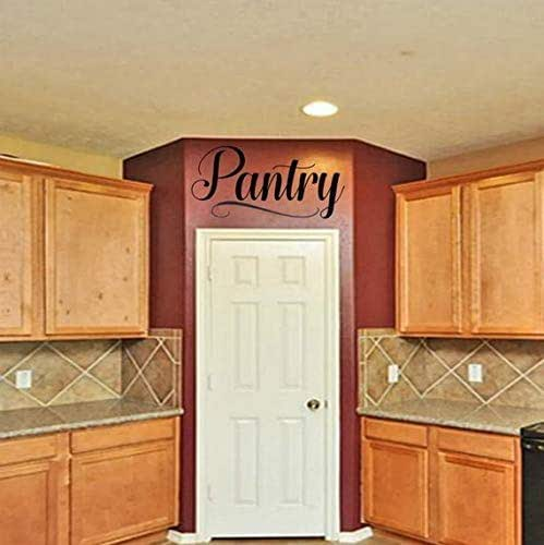 Kitchen Pantry Amazon: Amazon.com: Free Shipping Pantry Vinyl Wall Decal: Handmade