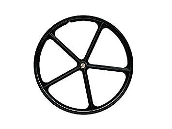 Pepita Bikes - Llanta aspa / rueda palos negra (delantera): Amazon.es: Deportes y aire libre