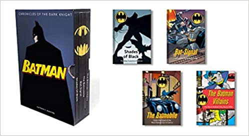 batman chronicles of the dark knight 4 hardcover illustrated books