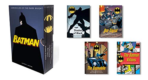 Batman: Chronicles of the Dark Knight: (4 hardcover, illustrated books) -