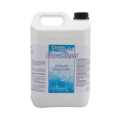 GHE 06–280–190 Flora Kleen Reinigungslösung für Salzablagerungen an Pflanzen, 5 Liter