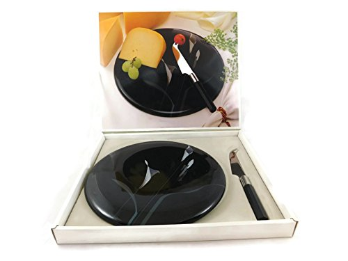 Mikasa Opus Black Cheese Set (Uptown Silverware)