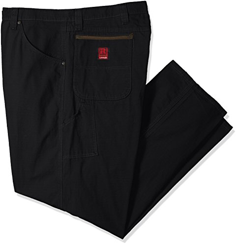 - Wrangler Men's Big Riggs Workwear Carpenter Jean, Black, 46x30