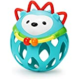 Skip Hop Explore and More Roll Around Rattles Toy, Hedgehog