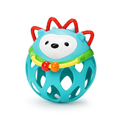 Skip Hop Explore and More Roll Around Rattle Toy, Hedgehog