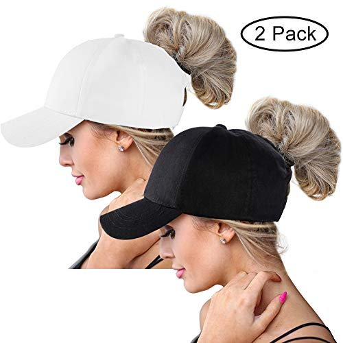 Ponytail Baseball Hats Cap for Women,Sun Messy High, used for sale  Delivered anywhere in USA