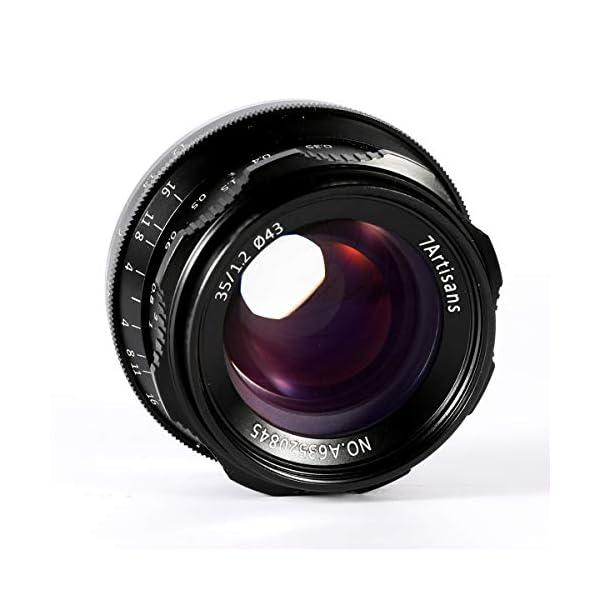 RetinaPix 7artisans 35mm F1.2 Large Aperture Prime APS-C Manual Focus Lens for Sony E Mount Mirrorless Cameras