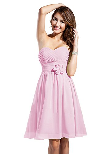 candy pink prom dresses - 4