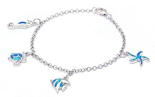 Dangling Starfish Bracelet - 5