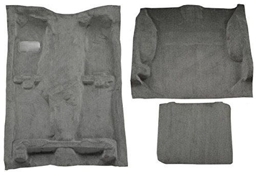 1999 to 2004 Jeep Grand Cherokee Carpet Custom Molded Replacement Kit, Complete Kit (897-Charcoal Plush Cut Pile)