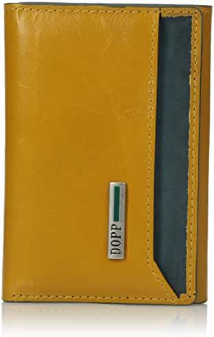 Dopp Men's Beta Rfid Blocking Leather I.d. Three-fold Wallet