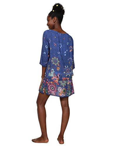 5000 nave Donna Blu Swimwear Blusa Blue Woman Melina Desigual Top zBxPqSwOn1