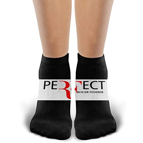 (Crew Novelty Cotton Socks, Roger Federer, Running Cycling Athletic Casual Ankle Cozy Funny Socks)