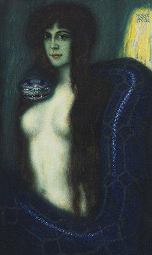 Franz Stuck - The Sin, Poster art print wall d?cor