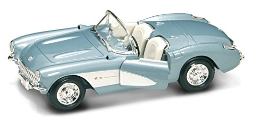 Yatming Road Signature Collection 1957 Chevrolet Corvette Die Cast 1:24 -