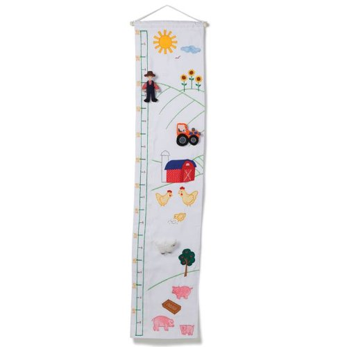 Oskar & Ellen Fabric Farm Height Chart 8014