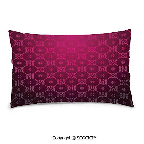 (SCOCICI Personalized Rectangle Decorative Pillowcases,16