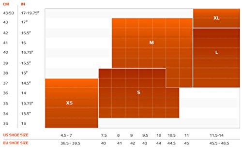2XU Men's Compression Performance Run Socks, Black/Fluro Green, X-Small by 2XU (Image #2)