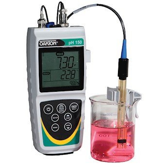 Oakton pH 150 Waterproof Portable Meter with SJ All-in-One Electrode by Oakton